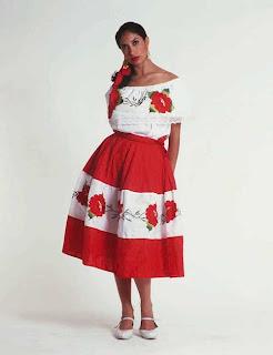 Vestidos casuales tipicos