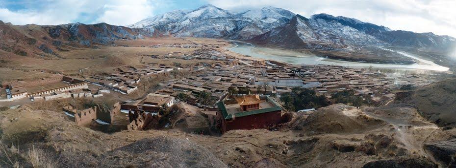 Monasterio de Ra-gya antes del terremoto / Buddhist monastery of Ra-Gya before the earthquake
