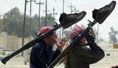 Los talibanlandianos montan en cólera...