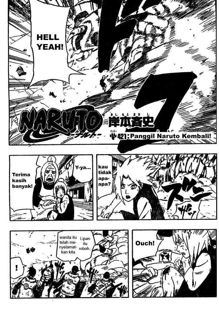02 Naruto 421   Panggil Naruto Kembali