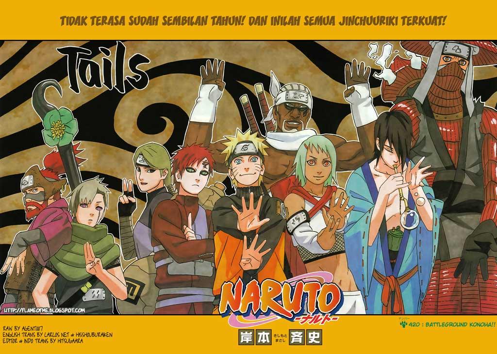 01 02 Naruto 420   Perang Konoha