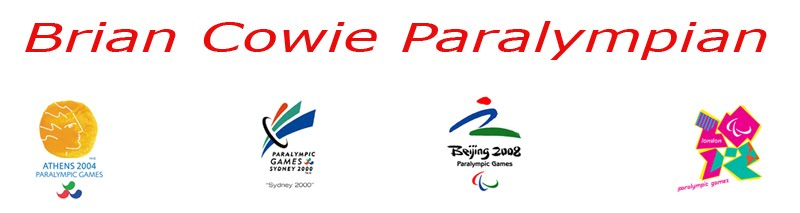 Brian Cowie Paralympian