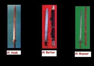 Pedang2 Nabi