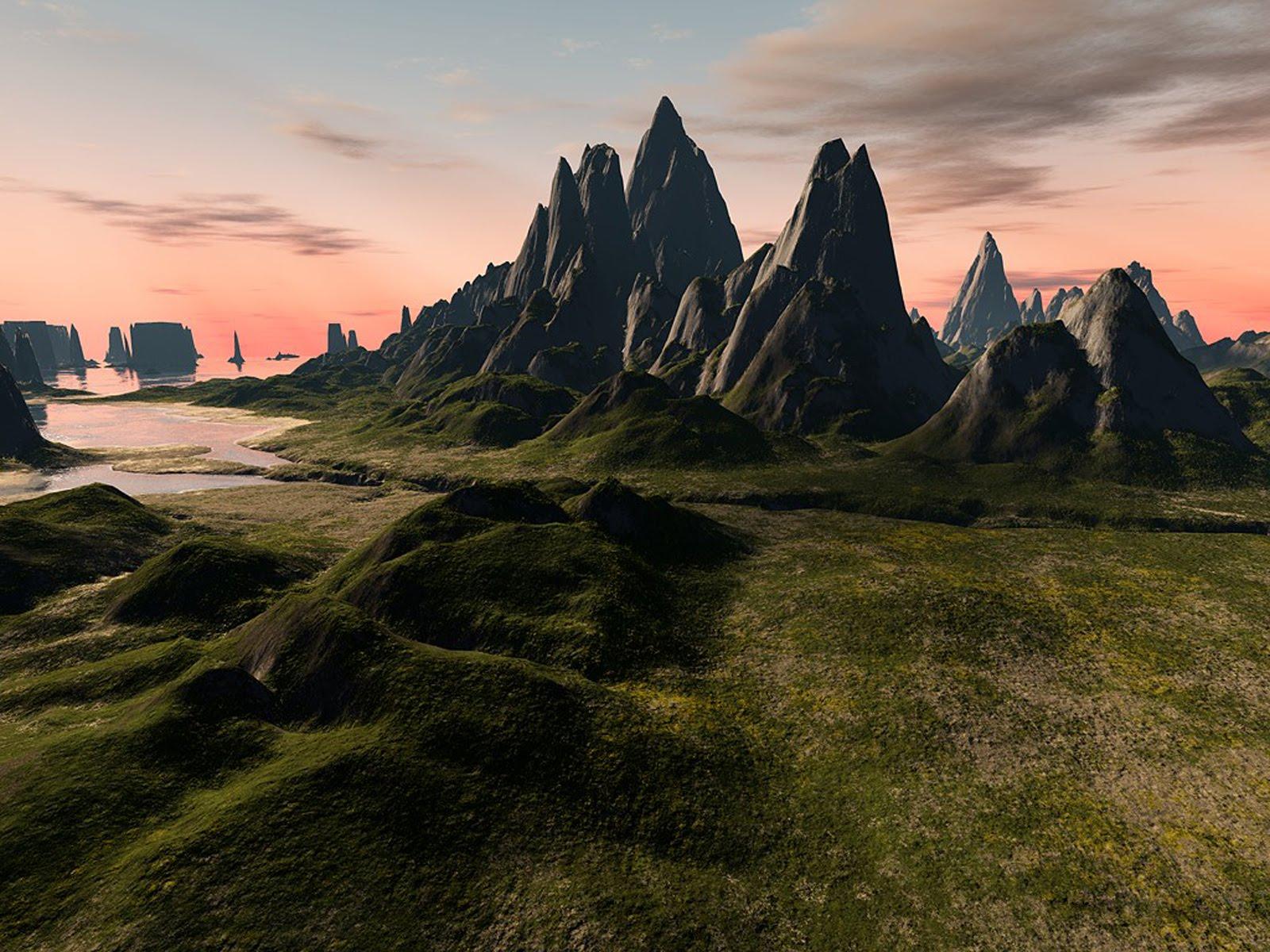 Poze Imagini Desktop -Peisaje 3D