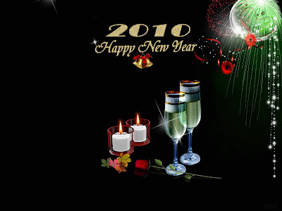 Happy new year 2010, hd wallpaper 1600x1200 widescreen