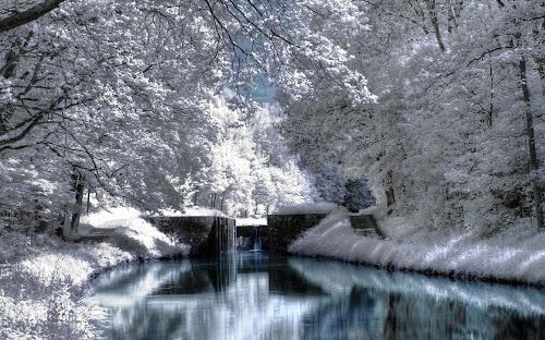 Gambar musim dingin indah