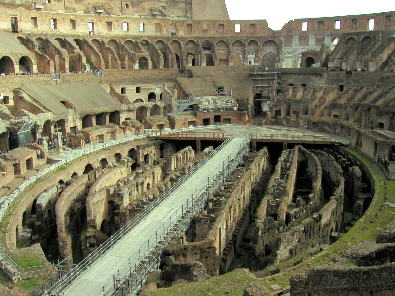 the roman colosseum The amphitheater in pozzuoli is one of the largest roman amphitheaters in italy capable of hosting over 20,000 spectators its construction begun under the reign of emperor vespasian who also initiated the construction of the colosseum in rome.