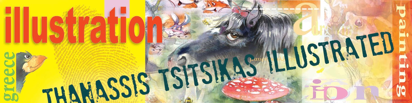 "Thanassis Tsitsikas               ""illustrated"""