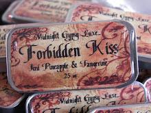 Iced Pineapple & Tangerine... Forbidden Kiss Lip Balm.