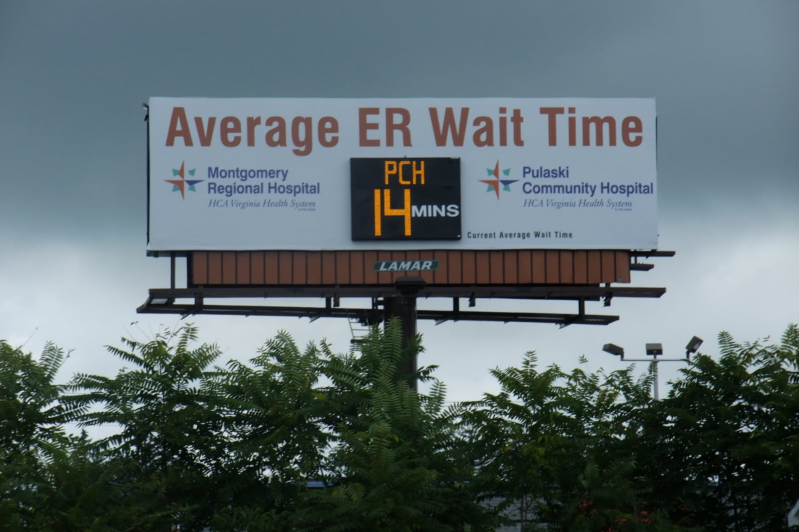 The Ring of Truth: Emergency Room Wait Times