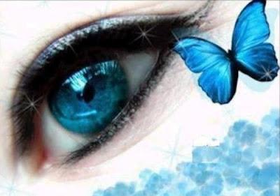 milagro dos grandes ojos azules me miran casi llorando porque ...