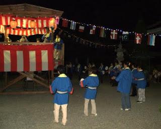 二上り音頭とまわり踊り(町指定無形民俗文化財)