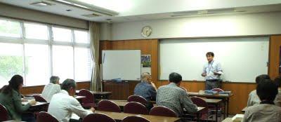 「古文書講座」座学(2009年9月12日)
