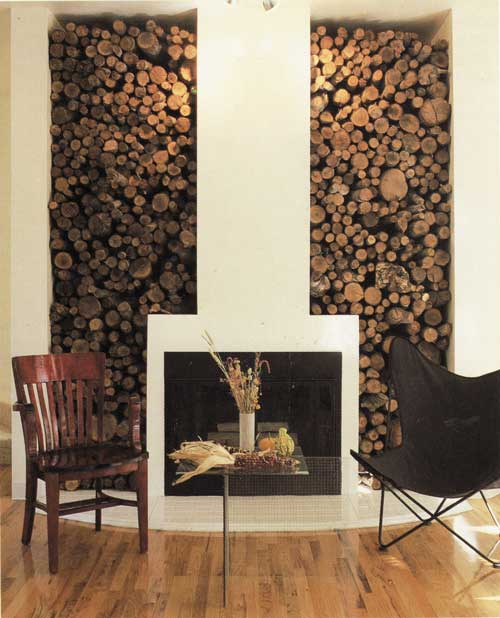 Lona de Anna: STACKED FIREPLACE