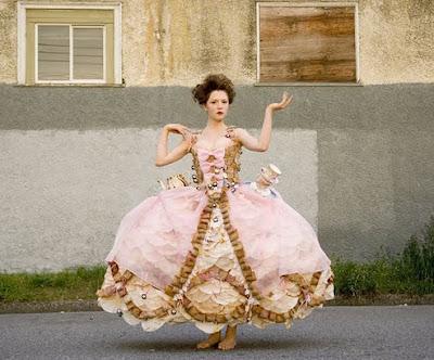 darling savage: recycled wedding dress