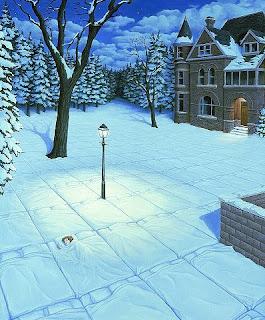 rob gonsalves_33 удивительные работы зимняя постель