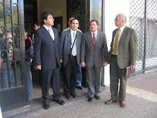 Pastores y hno José Aceituno