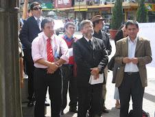 Hno Eduardo Duran S,Pastor José Reyes, Hno Raúl Romero
