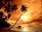 sunset in Kuta beach, sunset in Jimbaran bay, romantic sunset in Bali
