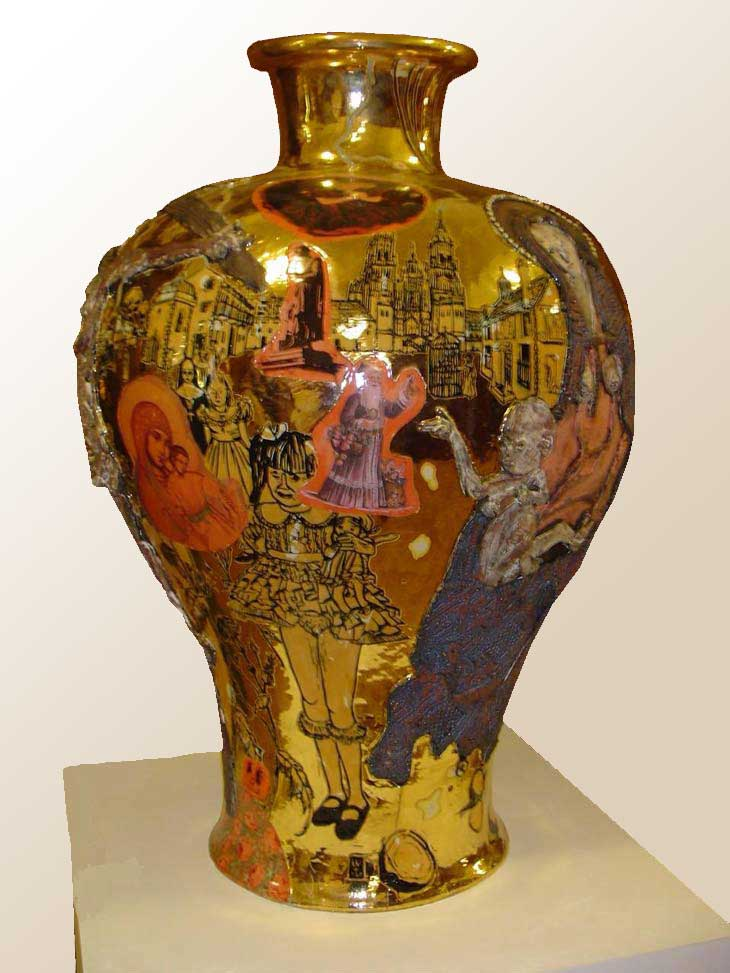 A212: ART: Vases by Grayson Perry :