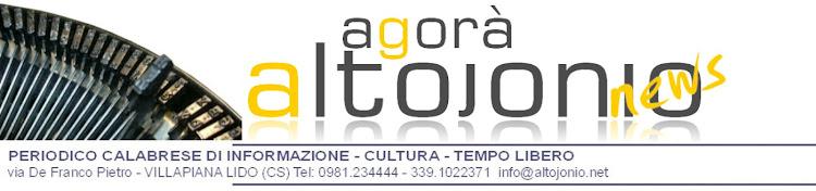 AGORA' ALTOJONIO news