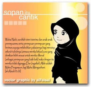 Eccha Poenya: Wallpapers Cartoon Muslimah