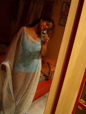 Desi Housewife Wear Sexy Salwar Kameez