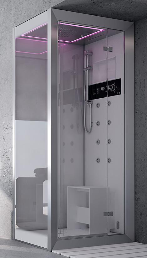 Marzua cabina de ducha lujosa por jacuzzi for Duchas modernas
