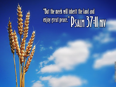 Christian Wallpapers Free Psalm 37:11