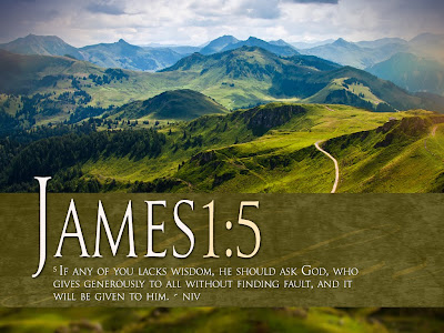 James 1:5 NIV Bible Verse