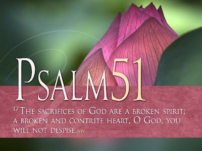 Psalm 51:17 NIV