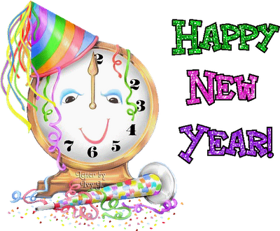 Animated Happy New Year Greeting