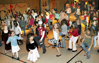Valentine day Dance Activity in School