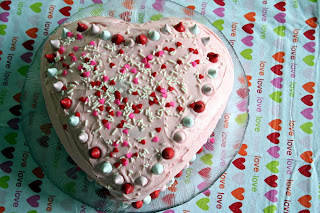 Cheap Valentines Day Cake