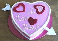 Handmade Valentine's Day Cakes
