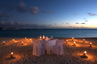 Valentine's Day on Beach