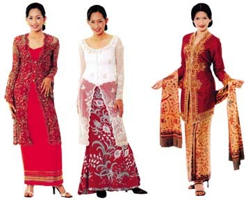 Indonesia Traditional Women Dress