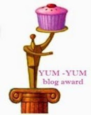 Premio Yum-Yum blog award