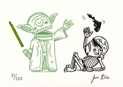 Star Wars Depicted With Traditional Mexican Art Seen On www.coolpicturegallery.us