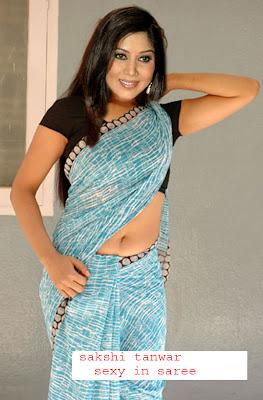 sakshi Tanwar in saree