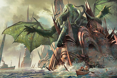 31 Monsters Of October Day 22 Cthulhu