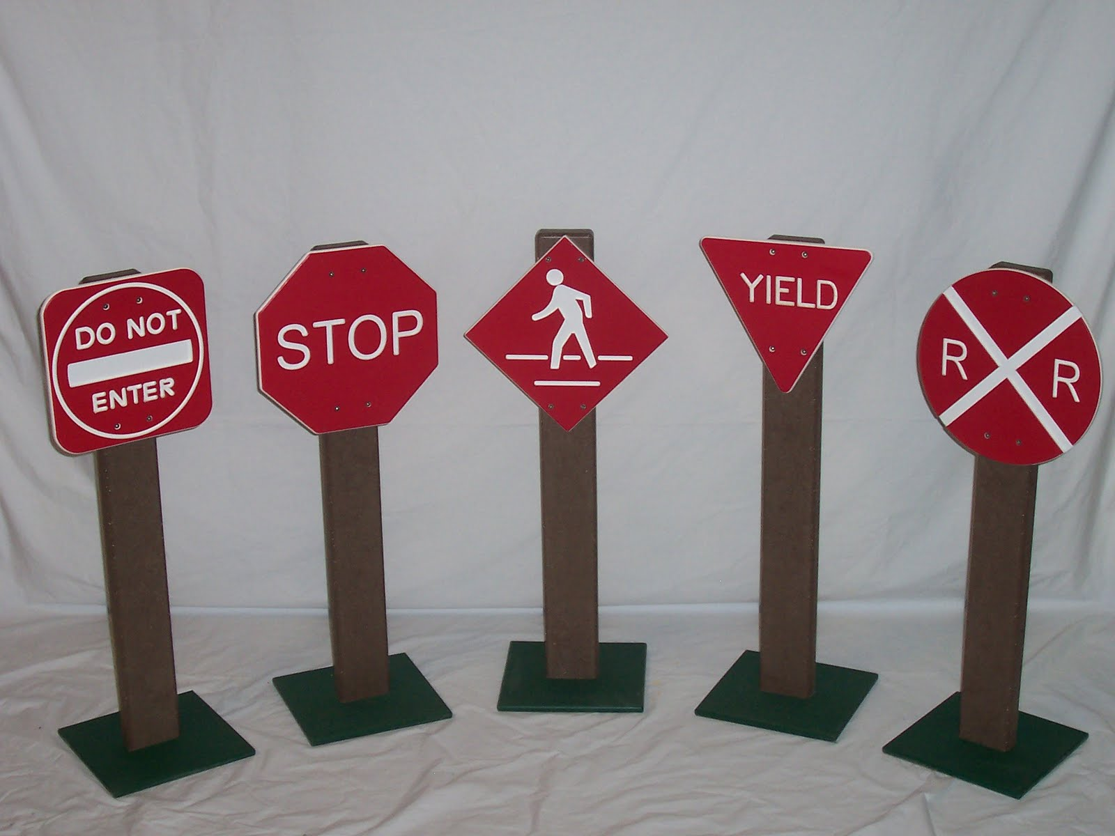 Teach drivers safety to your children early on with these signs