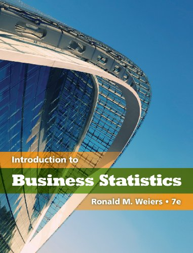 Weirs' Introduction to Business Statistics is highly praised among the