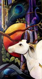 डॉ.लाल रत्नाकर की पेंटिंग