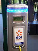 borne recharge EDF PLC voiture electrique