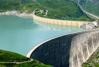 eau barrage francais concession edf hydro electricite