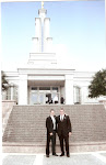 At the San Antonio Temple