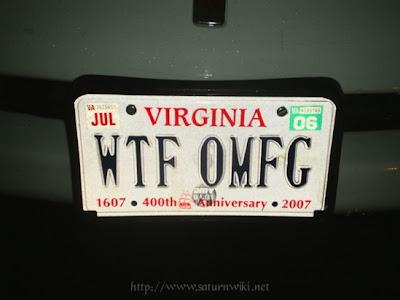 Ass orgy license plate