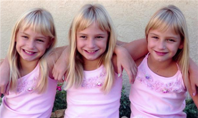 Identical Triplets!