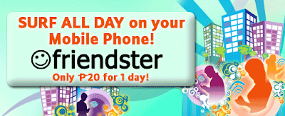 Friendster's Surf All Day Plan Promotion in Philippines